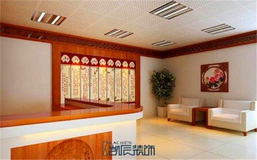 合肥医院装修:中式古典