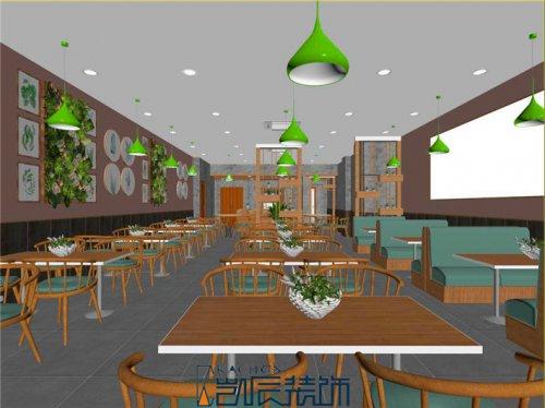 合肥餐厅装修:高速时代