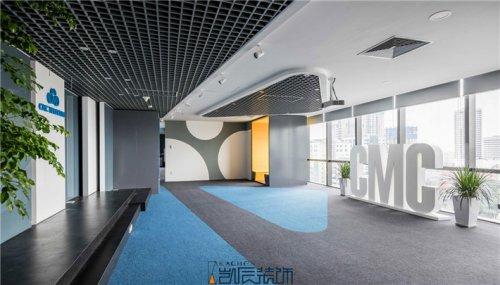 合肥办公室装修:高端大气上
