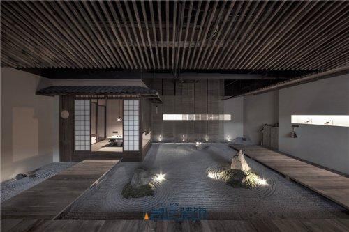 合肥茶楼装修——日式风茶楼