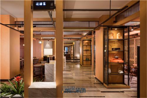 【凯辰工装】中式餐厅装修设