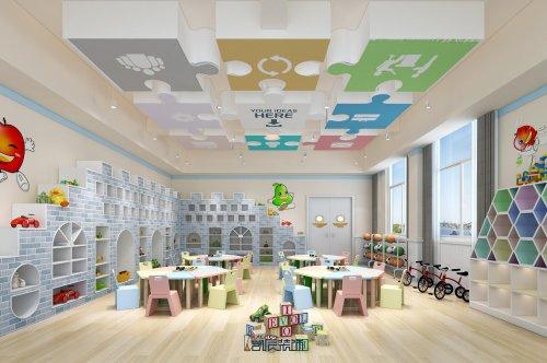 幼儿园装修设计:医务室、晨