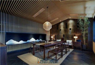 中式茶楼装修设计,尽显儒雅