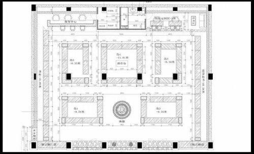珠宝店装修设计——动线规划