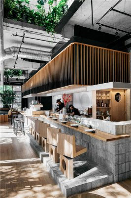 合肥餐厅装修:天然质朴的餐