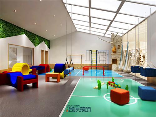 红黄蓝幼儿园早教机构装修效果图