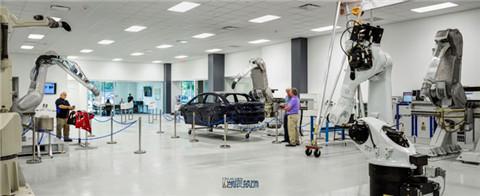 汽车工厂装修设计效果图