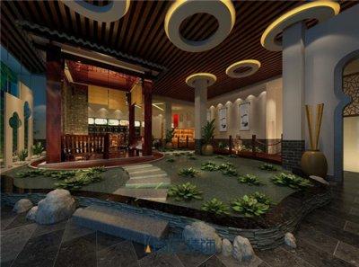合肥茶楼装修:中国古典风茶