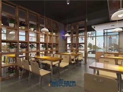合肥餐厅装修案例:中式快餐