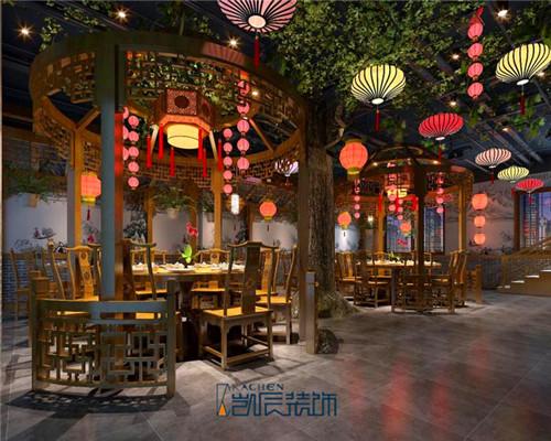 新中式风农家乐装修效果图