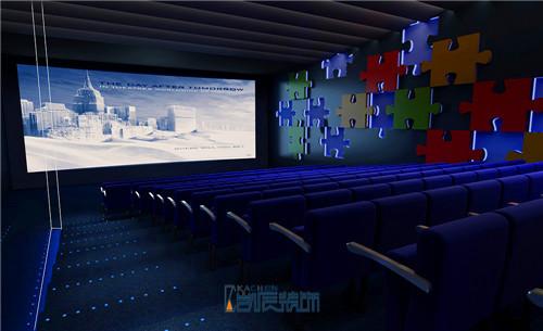 电影院装修效果图展示