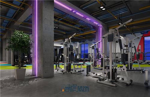 健身房装修效果图