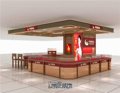 合肥店铺装修:中国黄金珠宝