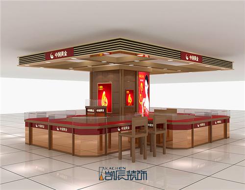中国黄金珠宝装修效果图
