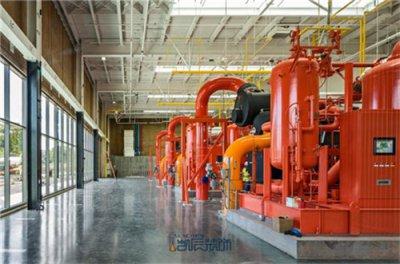 合肥厂房装修中的车间电气设