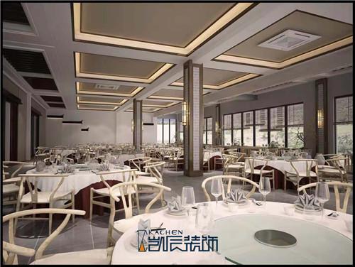 合肥餐厅装修——阜阳农家乐酒店装修效果图之大厅
