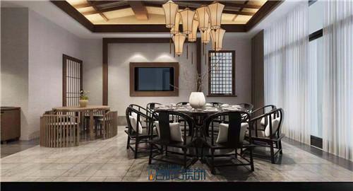 合肥餐厅装修——阜阳农家乐酒店装修效果图之厢房