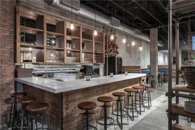 凯辰装饰:现代工业风的餐厅