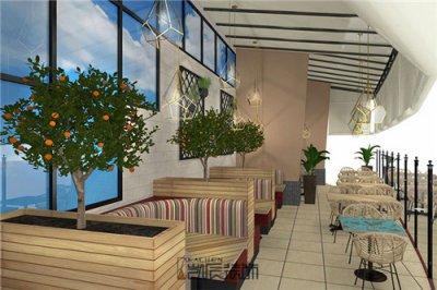 合肥餐饮店装修:休闲风餐厅