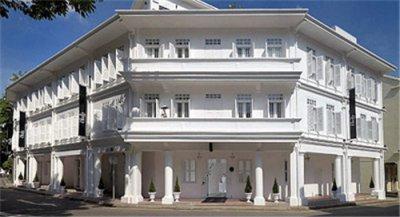 酒店装修之黑与白组成的简单