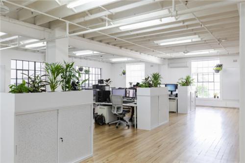 合肥电子商务公司300平米办公室装修