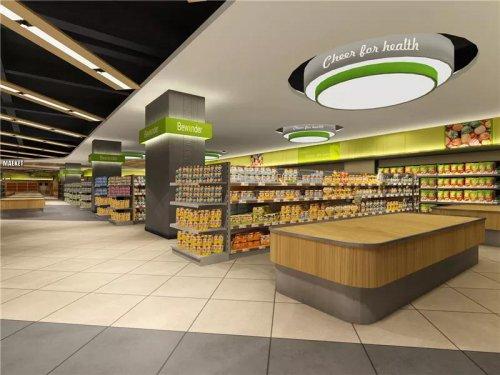 合肥超市装修,生鲜超市装修