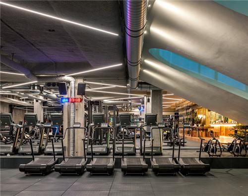 合肥健身房装修设计,健身房