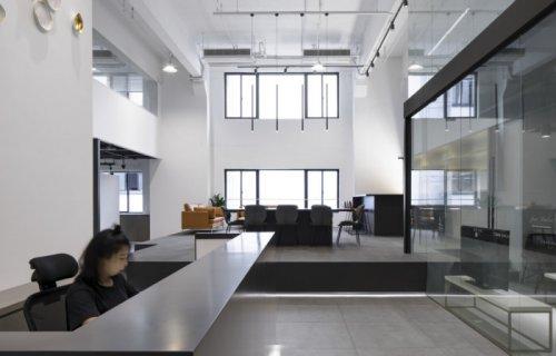 320平米办公室装修案例,效果
