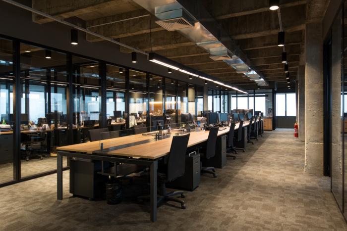 合肥金融服务办公室装修设计