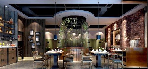 商业空间 主题餐厅装修设计