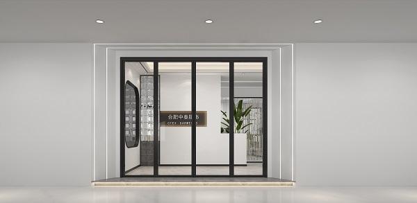 合肥580平办公室装修案例
